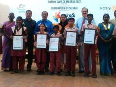 Chennai Corporation Schools Wins
