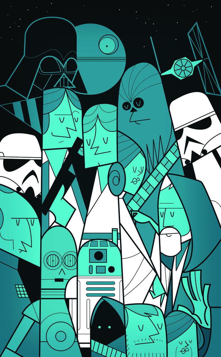 Star Wars by Ale Giorgini