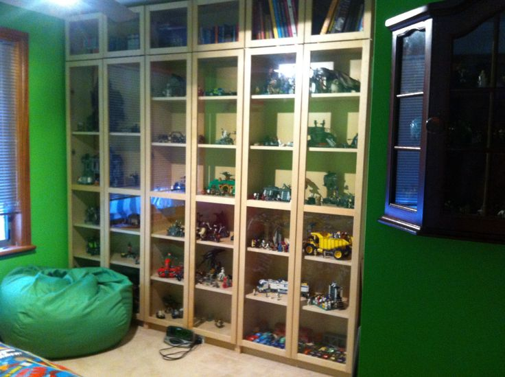 Billy Bookcase Lego Storage Dust Proof Yay No More