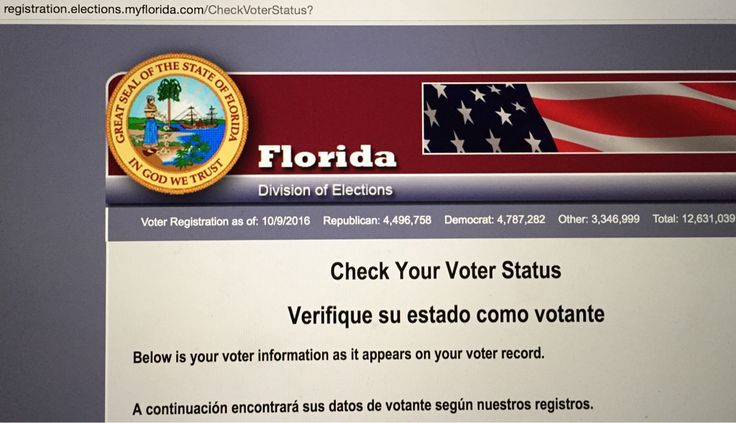 Please Register or check your status online these mofos trying to pull a fast one 😡 #vote #register #checkstatus #Florida #democrat #deadline #today #october11 www.myflorida.com