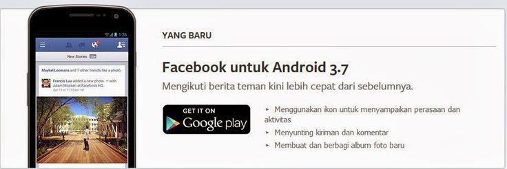 Download Aplikasi Facebook Untuk HP Android Terbaru 2014 sekarang juga dengan meng-klik gambar di atas.  http://infonewbi.blogspot.com/2014/02/download-aplikasi-facebook-untuk-hp.html