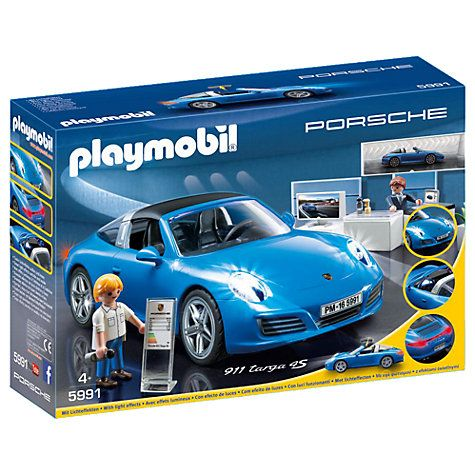 Buy Playmobil Porsche 911 Targa 4S Online at johnlewis.com