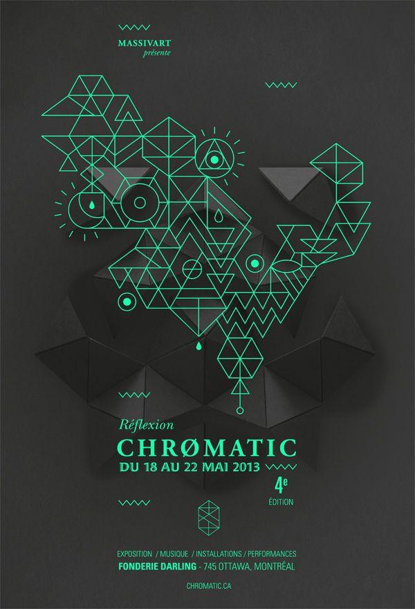 Festival Chromatic 2013, de Emilie Thibaut