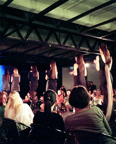 Fashion show in Budapest