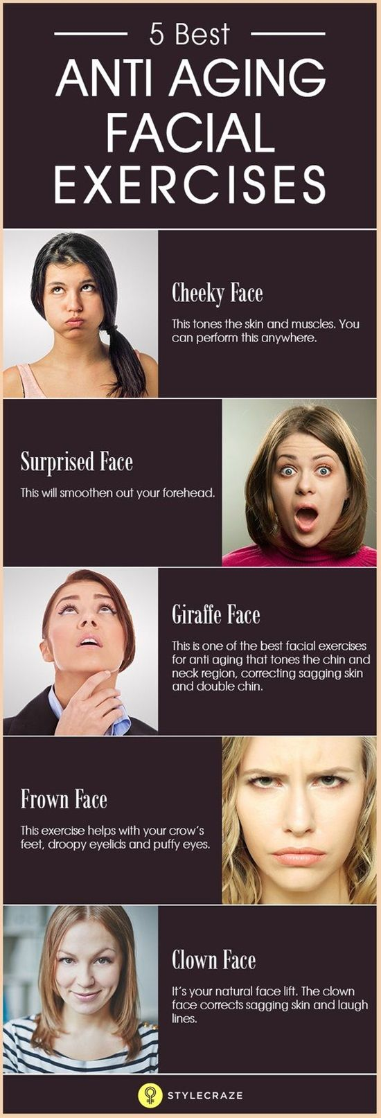 Best Anti Aging Facial Exercises