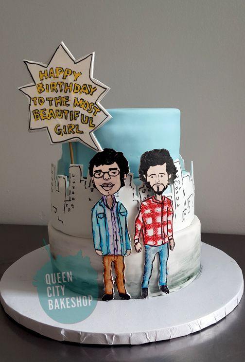 Flight of the Conchords Birthday Cake