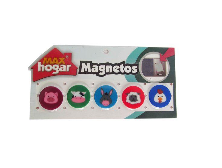 Magnetos Animalitos con imágenes de animales de Granja