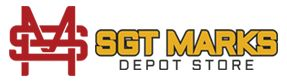 Sgt marks Depot Store is a Marine possessed and worked Marine Corps store with a full stock of clothing.Marine Corps Shirts,Marine Corps hats,Marine Corps bumper stickers.
