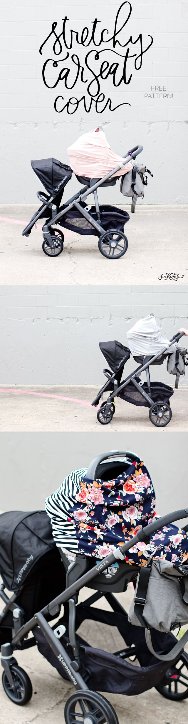 how to make a canopy cover for car seat