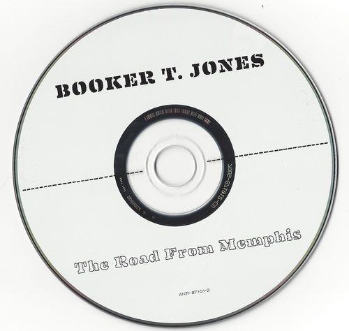 Booker T. Jones The Road From Memphis 2011 CD Professionally Cleaned