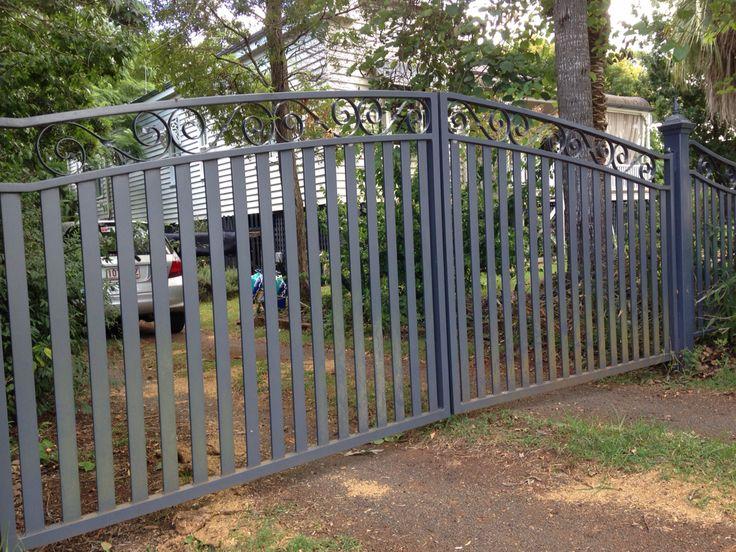 Lyla driveway gates www.gatesandfencingonline.comau