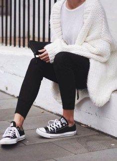 49 Coole Herbstoutfits, die für Frauen immer fantastisch aussehen – Outfit ideen