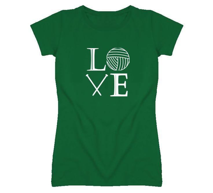 Love Knitting Tshirt