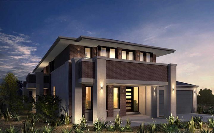 Metricon home designs the imperial oakpark facade for Home designs victoria