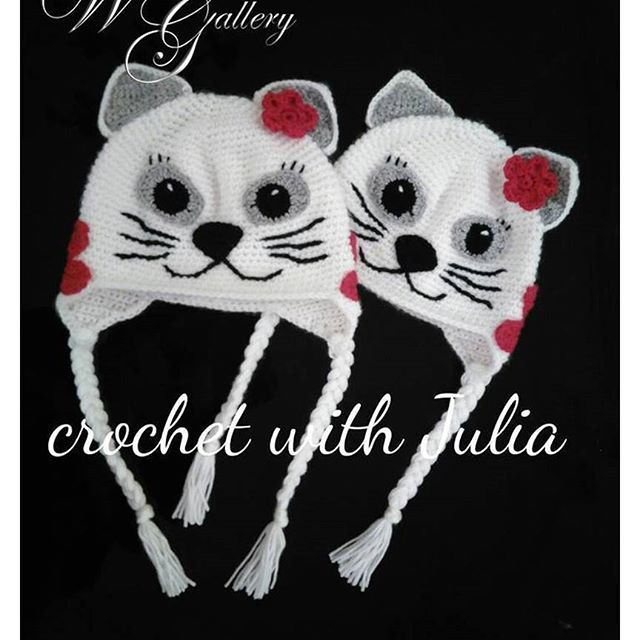 "☝️❗️SALE!SALE!SALE❗️ 💯 Hand-Made 💯👇 🌐 https://www.facebook.com/groups/world.hand.made.gallery/ ____________________ 👩 Crochet with Julia. Egypt Egypt, Cairo. Hats ""cats""😻. 100% acryl. It may repeat for any age. 🚘 Delivery in Egypt. 🇷🇺 Египет Каир. Шапочки ""кошечки"" 😻. 100% акрил. Возможно повторение на любой возраст. 🚘 Доставка по Египту. _______________________________________________ 🌐 http://world-handmade-gallery.com…"
