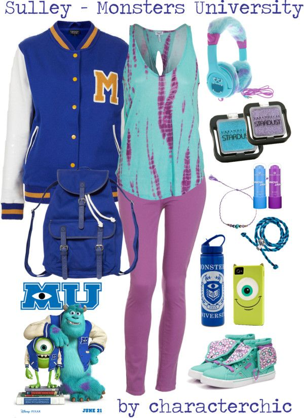 """Character Chic: Sulley in """"Monsters University"""""""