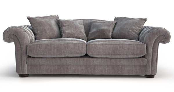 Grand Pillow Back Sofa Loch Leven