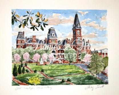 """Old Wesleyan Conservatory"" – Wesleyan College  Sterling Everett"