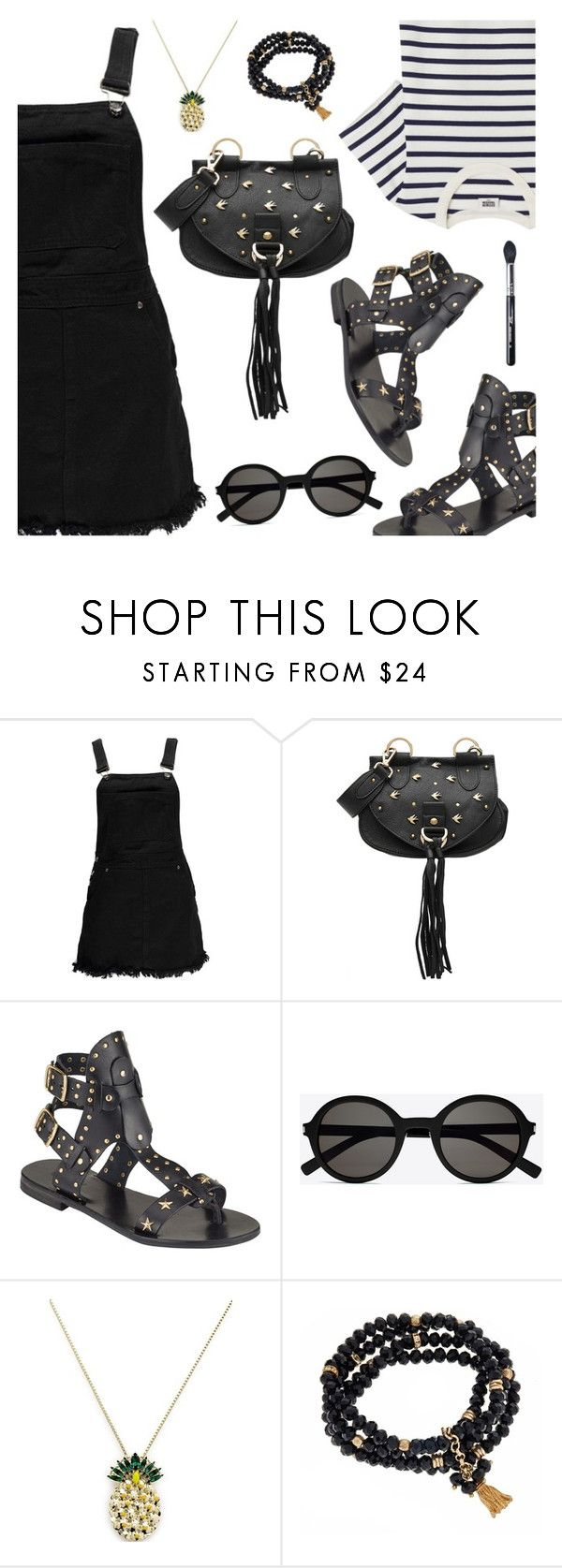 """""""Outfit of the Day"""" by dressedbyrose ❤ liked on Polyvore featuring Boohoo, See by Chloé, Somerset by Alice Temperley, Yves Saint Laurent, Anton Heunis, Fornash, Sigma, ootd and polyvoreeditorial"""