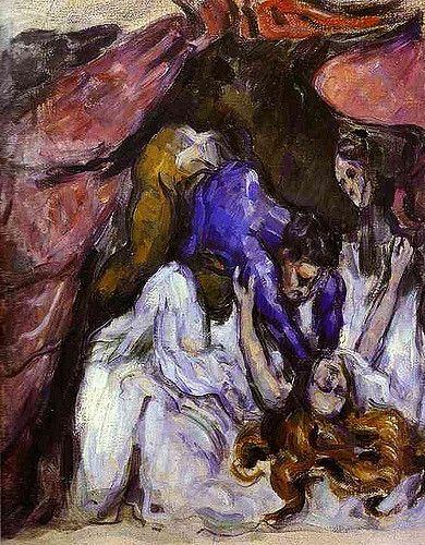 Paul Cézanne (French, Post-Impressionism, 1839–1906). 1872, The Strangled Woman