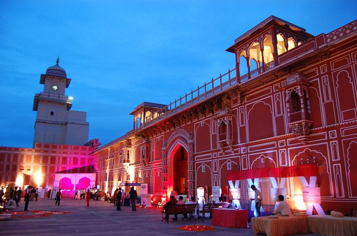 Jaipur City Palace, Deserts and Palaces of Rajasthan