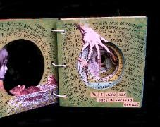 """""""Through the Rabbit Hole"""" An Alice inspired Tunnel Book / Color Version"""