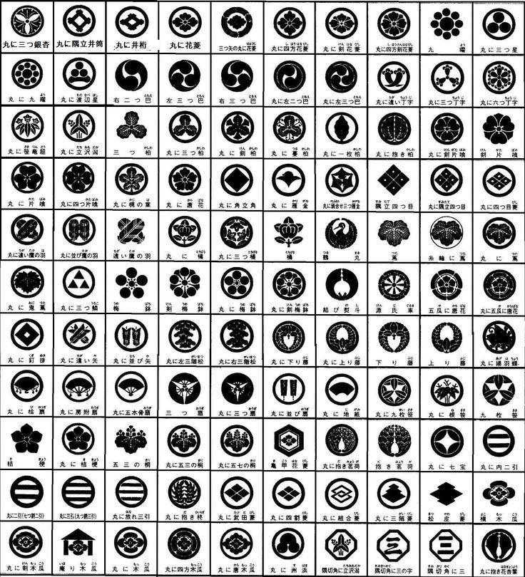 家紋100種類