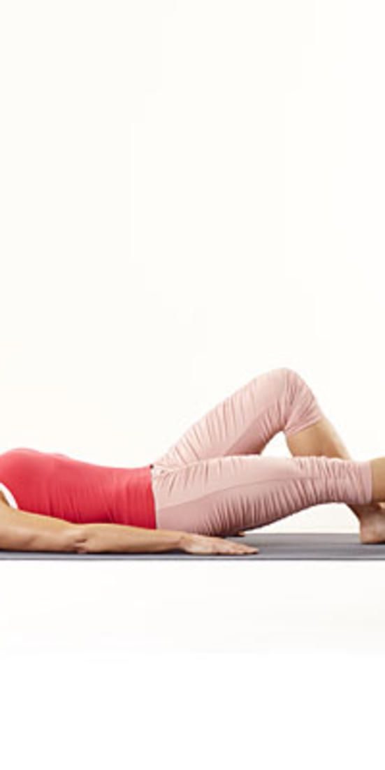 Straight leg raise  - Do these exercises, from physical therapist Renee Garrison, for five minutes a day to get strong and ward off lower back pain.