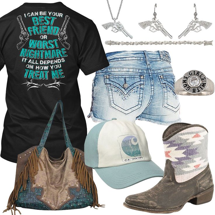 How You Treat Me Carhartt Cap Outfit - Real Country Ladies