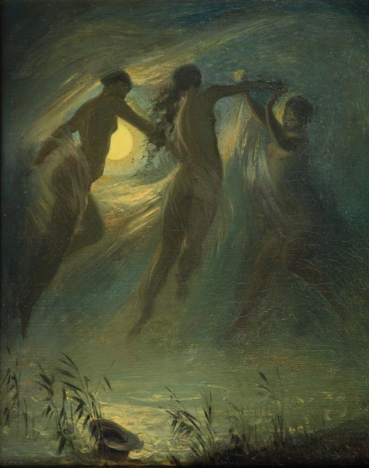 The Drowned - Josef Mánes