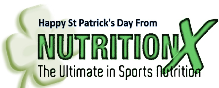 Happy St Patrick's Day from Nutrition X