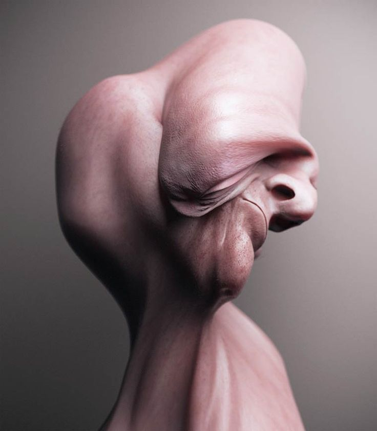 Une série de portraits étranges et surréalistes du designerCan Pekdemir, qui manipule et déforme les os de ses modèles afin de créer des expérimentatio