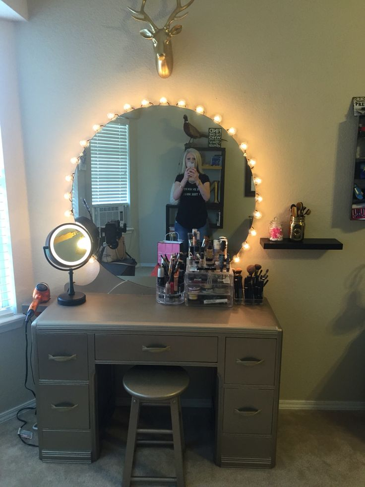 Refinished Vanity Dresser