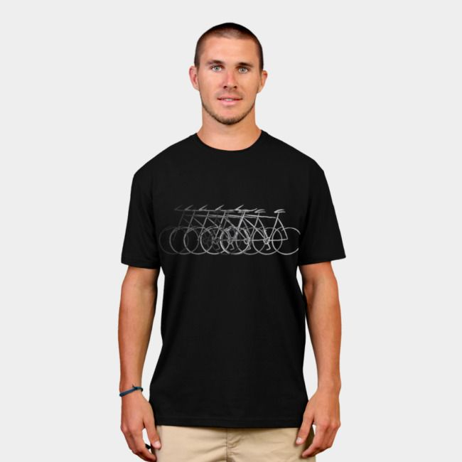 Just Bike. #designbyhumans #bicycle #bike #outdoor #adventure #cycling #mountainbike #tshirt #tshirtdesign #apparel #menswear