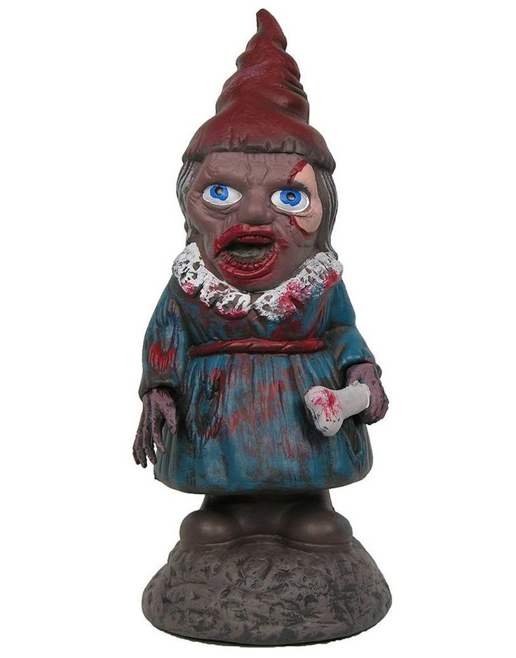 zombiefied female garden gnome prop 353008 garden gnomesgardenshalloween 2015halloween decorations