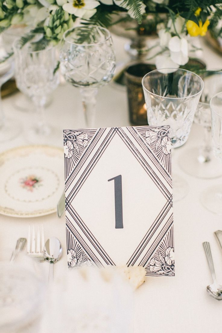 127 Best Table Numbers Images On Pinterest Wedding Table Numbers