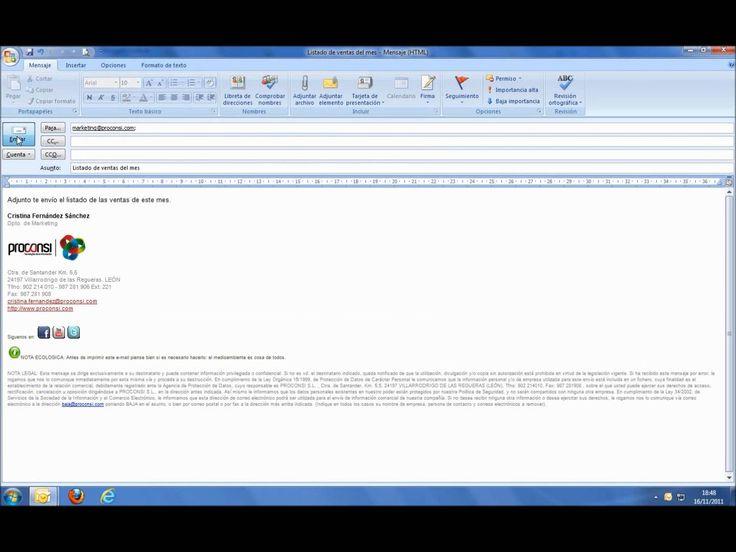 Vídeo Tutorial - Cómo crear una plantilla de correo electrónico