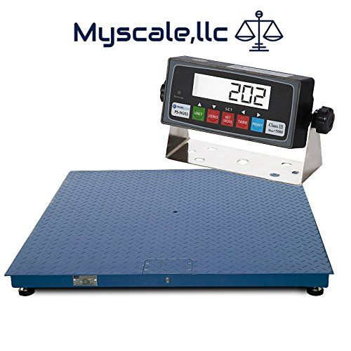 United Scale NTEP Legal for Trade 2 by 2-Feet Heavy Duty Floor/Pallet Scale, 2000-Pound. 3x3 NTEP.