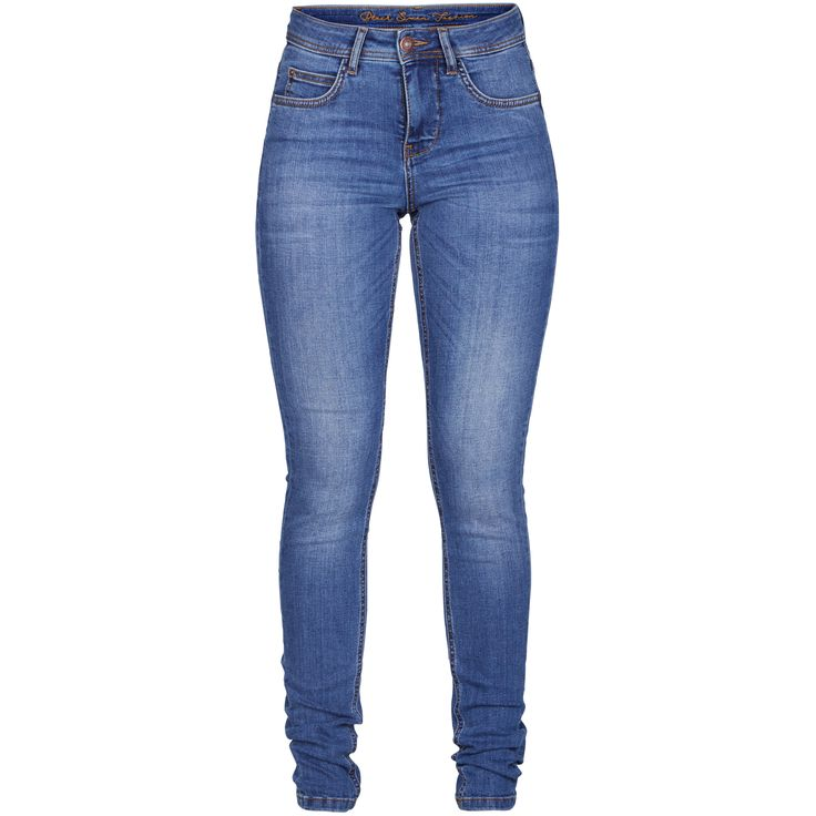 Jade highwaist slim jeans Beautiful basic blue jeans.  Black Swan Fashion SS17