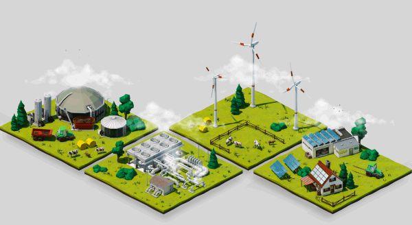 Renewable Energy Tiles by Ronny Schmidt, via Behance