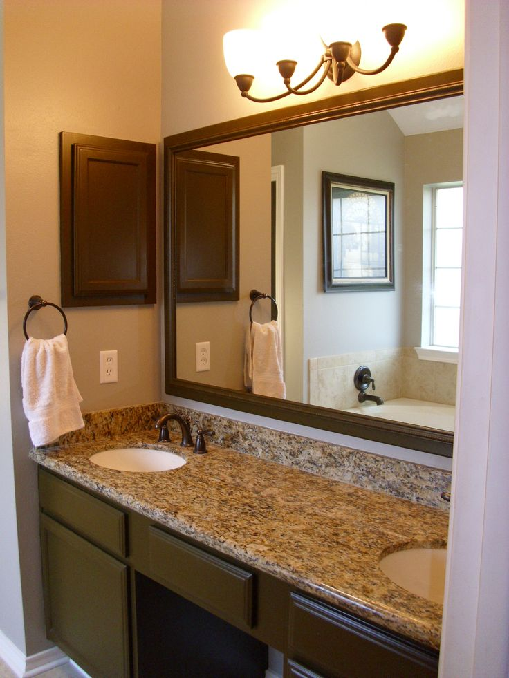 Best 20 small bathroom vanities ideas on pinterest grey - Small bathroom vanity mirror ideas ...