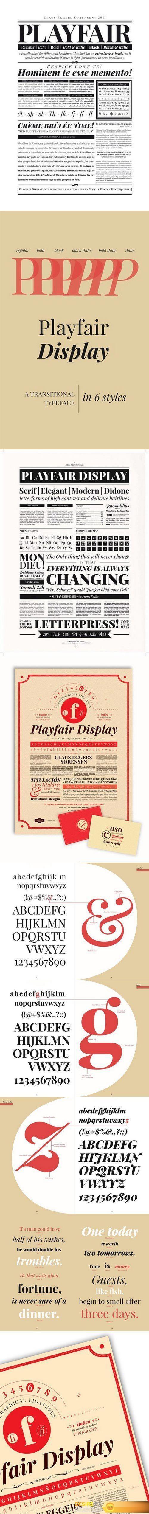 Playfair Display http://www.desirefx.me/playfair-display/