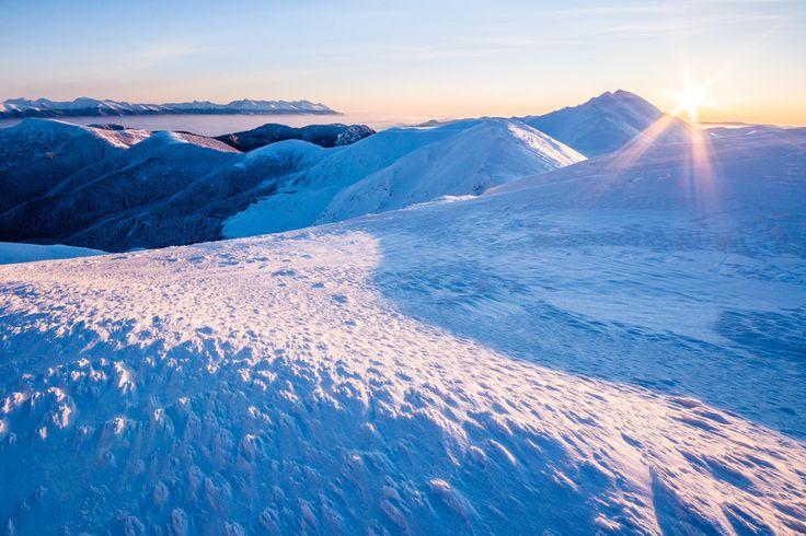 #lowtatras #slovakia 500px / Sunrise Over Dumbier Peak by Martin Vaculík