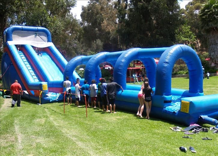 Portable Water Park Interact Event Productions Cool