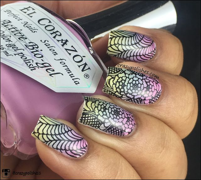 101 best Dashica Infinity - Stamping Nail images on Pinterest ...