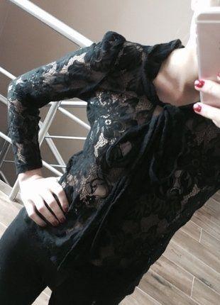 Kup mój przedmiot na #vintedpl http://www.vinted.pl/damska-odziez/bluzki-z-dlugimi-rekawami/15960001-koronkowa-przeswitujaca-czarna-bluzka-sexy-elegancka-hit-bik-bok-xs