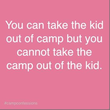 Summer Camp confession...