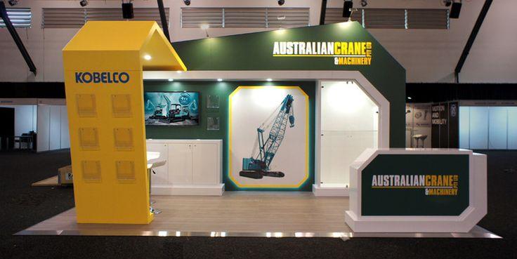 Australian Crane & Machinery Custom Display, 2015.