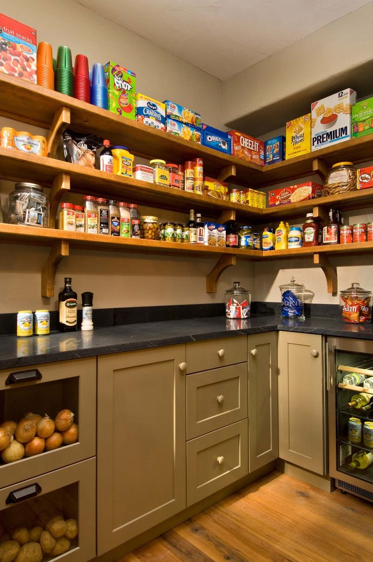 Best Images About  Food Pantry  On Pinterest Food -  kitchen pantry design