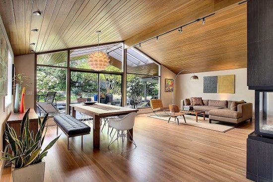 Stunning, soaring, mid century goodness. 8 Approaches to Mid-Century Modern Design | Zillow Blog via @Zillow ! Thank you for featuring @FieldstoneHill Design, Darlene Weir ! #midcentury #vision